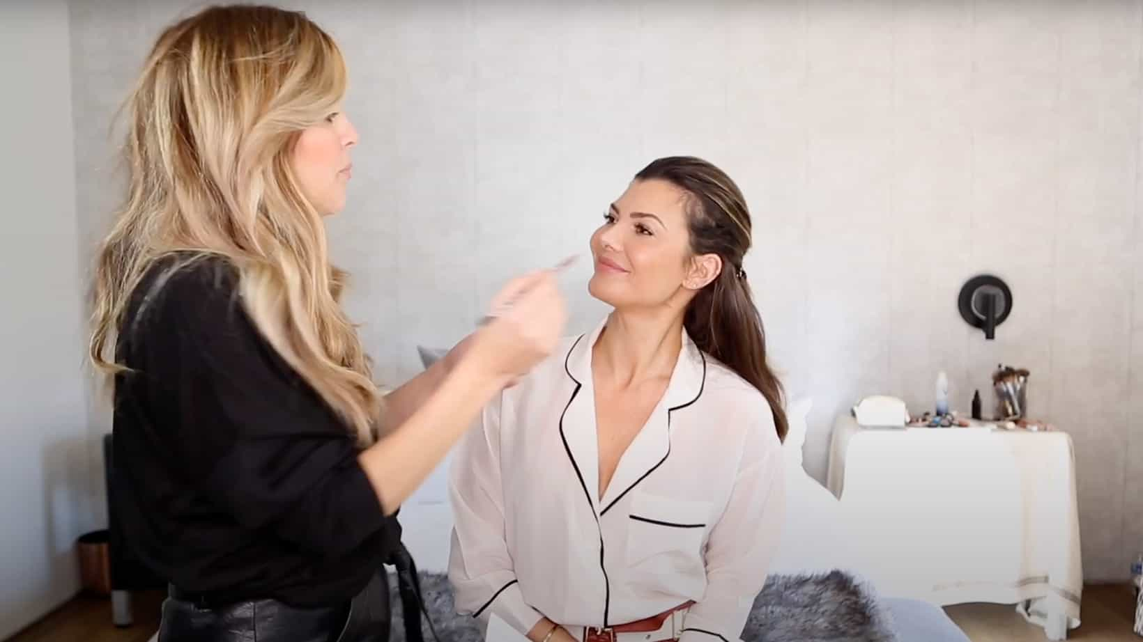 Ali Landry and MUA Davia Matson on Girlactik Brow Pencil for RE/SHAPE
